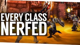 Every PvP Class Being Nerfed in Patch 7.1.5 - World of Warcraft Legion