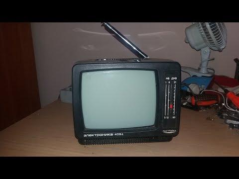 Розбір радянського телевізора Электроніка 409Д з купою золота, платини і палладія