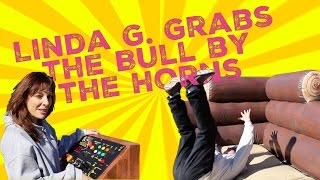 Linda G. Grabs the Bull by the Horns at Mr. Morning's Expense