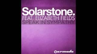 Solarstone feat. Elizabeth Fields - Speak In Sympathy [Solarstone Deeper Mix]