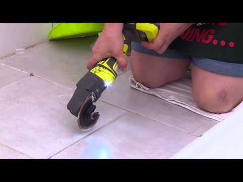How To Remove Grout - DIY At Bunnings