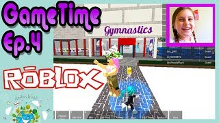 Let's Play ROBLOX Gymnastics Gymnasium a ROBLOX gameplay EP4🤸🤸 ♀️🤸 ♂️