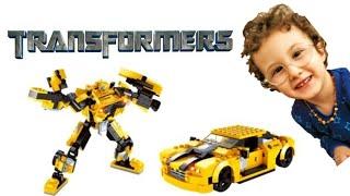 Transformers | İşte Burda!! LEGO Bumblebee Arabası | Right There!! LEGO Bumblebee Car
