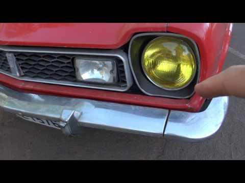Ford Corcel GT 1975 Projeto e apresentação do carro #001