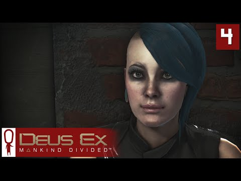 Deus Ex Mankind Divided Gameplay Part 4 - Milena and Drahomir - Lets Play [Stealth Pacifist PC]