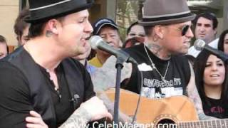 """Good Charlotte Sings """"Like It's Her Birthday"""" LIVE at the Grove/ Extra"""