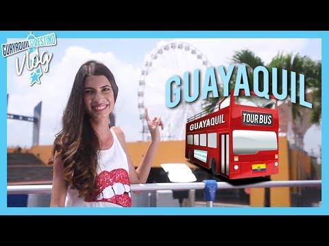 GUAYAQUIL TOUR BUS - VLOG | Zinahyd