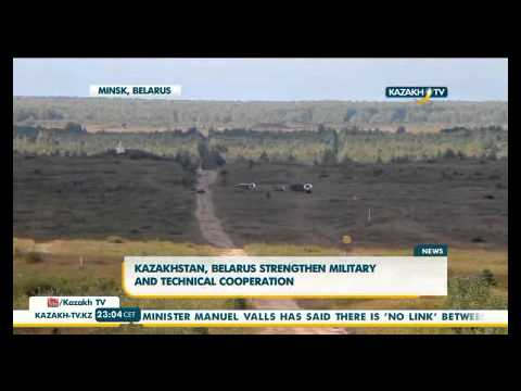 Kazakhstan, Belarus strengthen military and technical cooperation