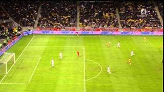 זלאטן איברהימוביץ מבקיע במספרת אחורית מ30 מטר ! HD