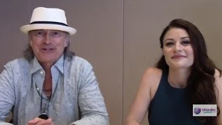 Once Upon a Time - Emilie de Ravin, Robert Carlyle Interview, Season 5