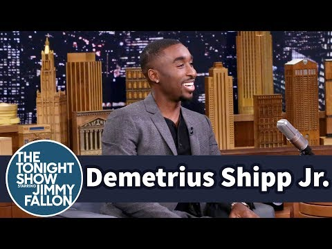 Demetrius Shipp Jr. Went from Retail to Tupac in All Eyez on Me