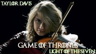 game of thrones light of the seven violin cover taylor davis