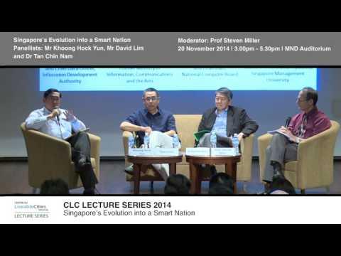 Panel: Singapore's evolution into a smart nation