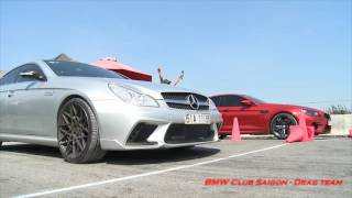 Mercedes CLS 55AMG ws BMW M6 GC
