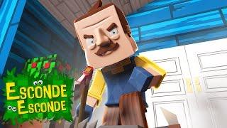 Minecraft: HELLO NEIGHBOR! (Esconde-Esconde)