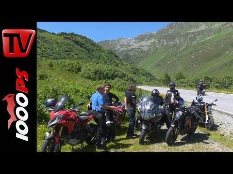 Motorrad Alpen-Battle 2015 Trailer | 1000PS im High-Bike Testcenter Foto