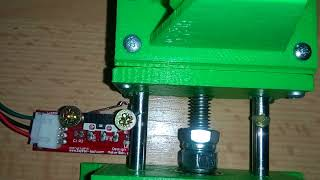 FILAMENT EXTRUDER @ WINDER LEVELING AUTOREVERSE CONTROLLED BY ARDUINO UNO
