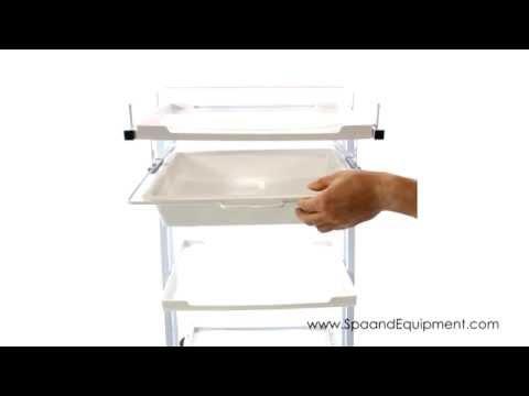 Plastic Salon Spa Cart Trolly