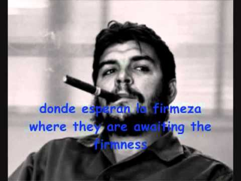 Che Guevara Hasta Siempre Lyrics Youtube