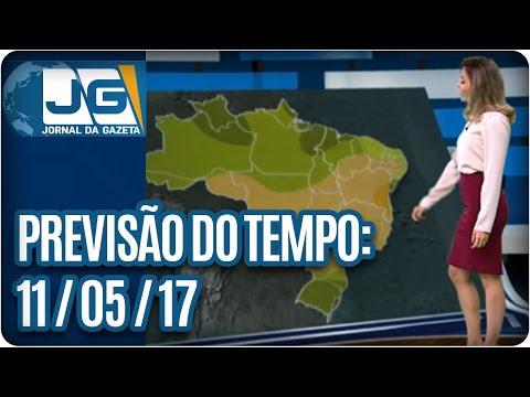 Previsão do Tempo - 11/05/2017