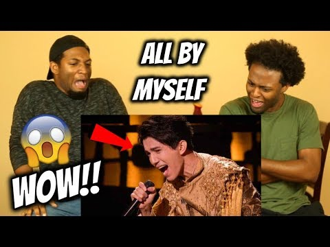 DIMASH - ALL BY MYSELF (THE WORLD'S BEST) JAW-DROPPING PERFORMANCE!! REACTION