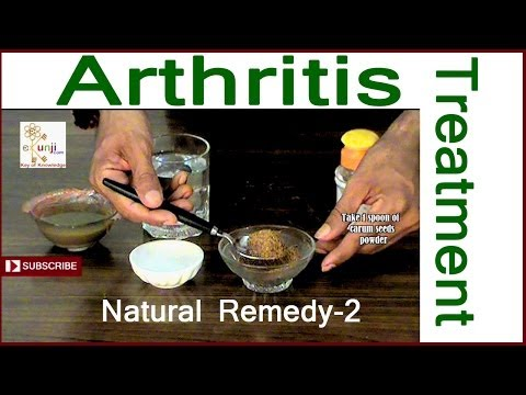Arthritis Treatment - The Best Natural Herbal Arthritis Treatment
