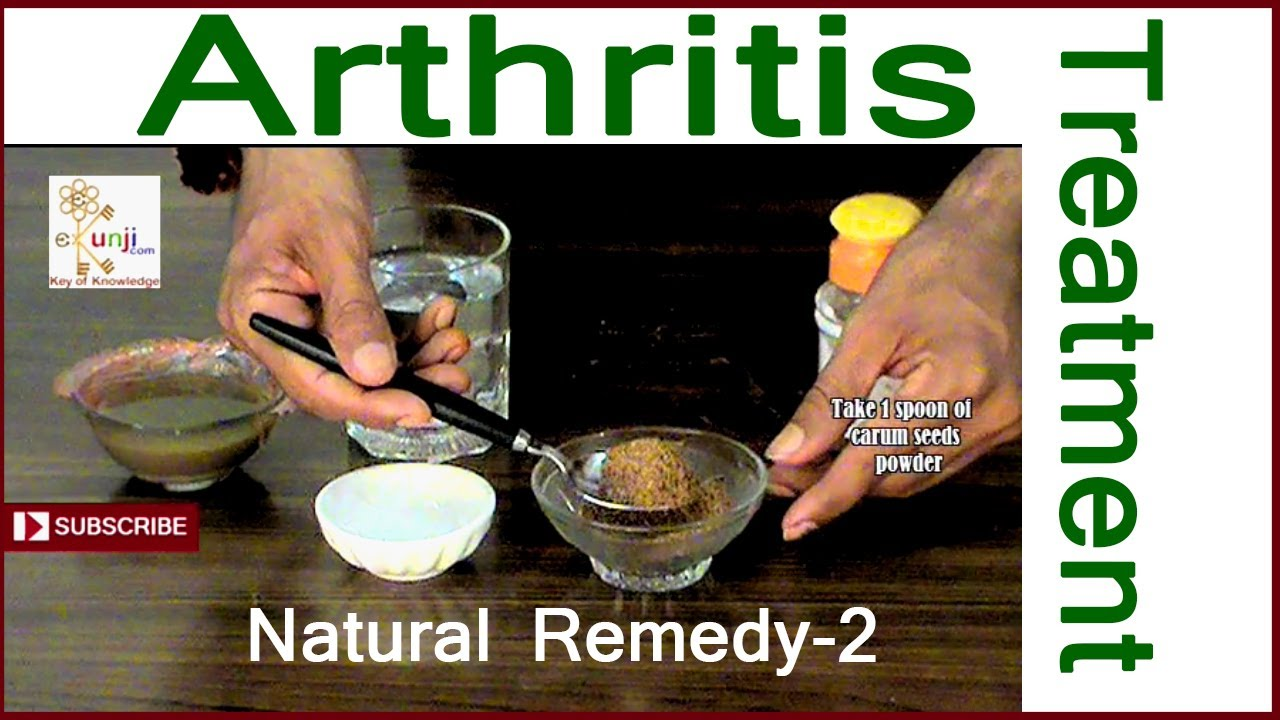 How To Cure Arthritis / Home Remedies for Arthritis ...