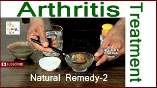 Arthritis Treatment - The Best Natural Herbal Arthritis Treatment