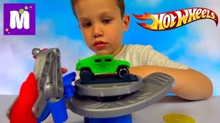Хотвилс покраска машин светом установка с машинкой Hot Wheels Lightbrush Lab