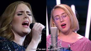 Lilou feat Adele (Nouvelle Star 2017) - Million Years Ago #DuetMashup