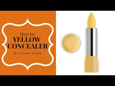 WHAT IS YELLOW CONCEALER FOR? - How to use it!
