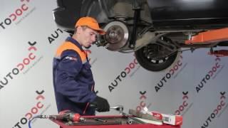 Opel Zafira f75 apkope - video pamācības