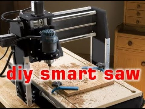 DIY Smart Saw: Build Your Own Wood CNC Router