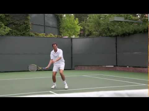 THE FOREHAND HALFVOLLEY