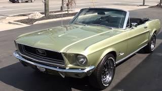 1968 ford mustang convertible 3190000
