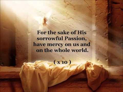 The Chaplet of Divine Mercy (with lyrics)