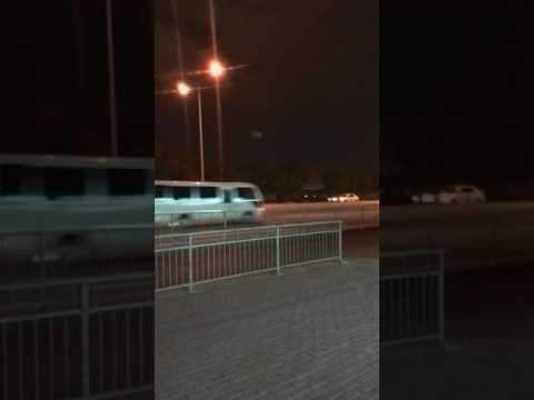Strange light in the sky in doha qatar