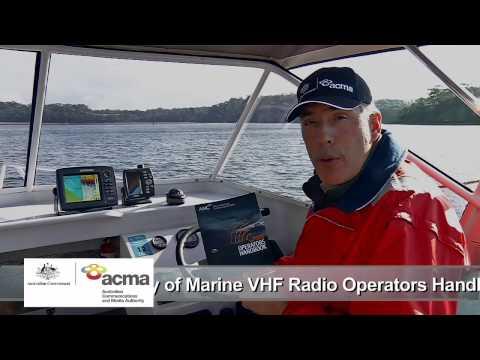 VHF Marine Radio Tips - ACMA/AMC