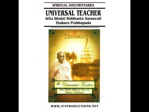 El Maestro Universal -Srila Bhaktisiddhanta Sarasvati Thakura-