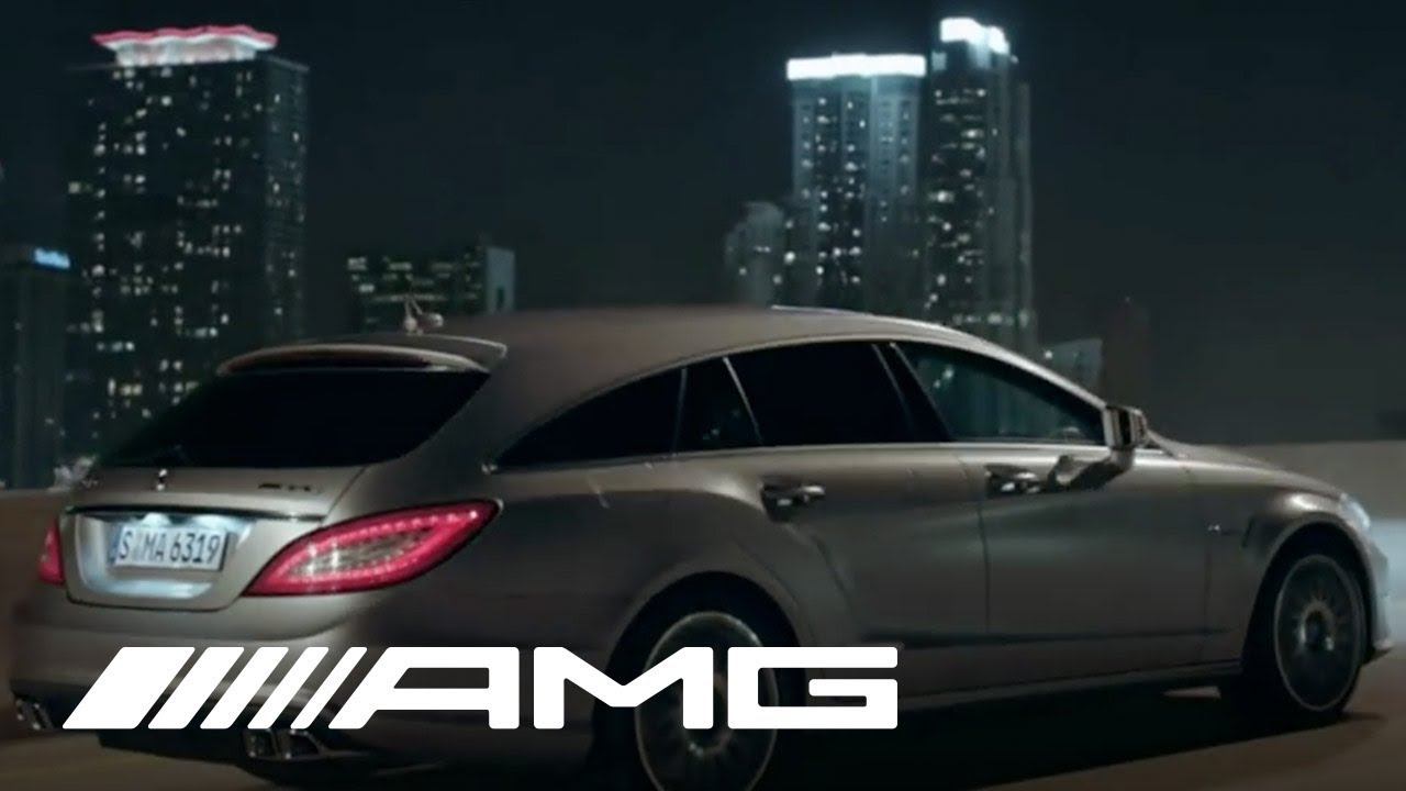 Cls 63 Amg Shooting Brake Tv Commercial Youtube