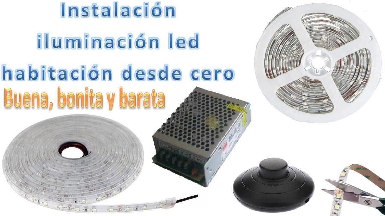 Instalaci n iluminaci n led habitaci n materiales - Iluminacion habitacion ...
