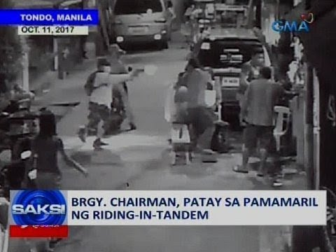 Saksi: Brgy. chairman, patay sa pamamaril ng riding-in-tandem