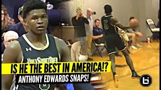 The BEST Player In America!? Anthony Edwards SNAPS IN 2nd Playoff Game!!!