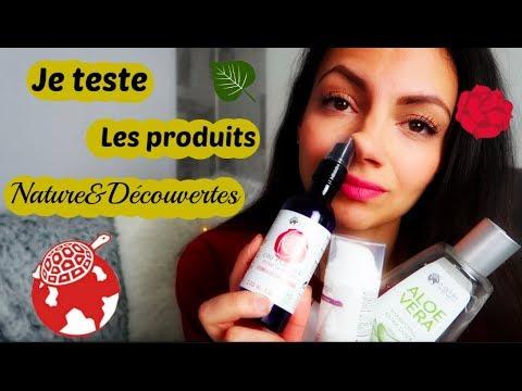 Je teste : Les produits Nature&Découvertes