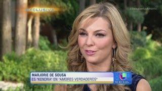 La bella Marjorie de Sousa de Amores Verdaderos en Despierta América
