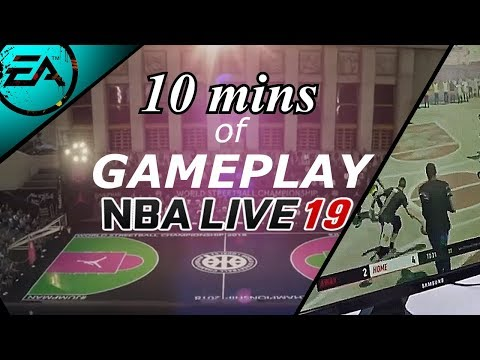 NBA Live 19   10 Minutes of NEW OFFICIAL HD Gameplay and Trailer   NBA 2k19 is DONE!!