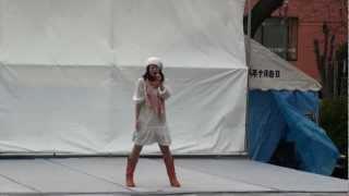 村上由香さん☆ ♪手をつないで @2012  震災復興元気市