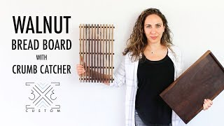 Bread Cutting Board // Woodworking Project // DIY Project