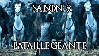 Game of Thrones saison 8 : date, teaser et bataille géante !