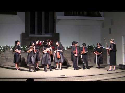 2013 Strings for Joy Winter Festival Concert Part 1 of 2